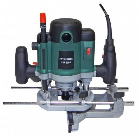 products/Фрезер электрический Favourite FER 2200 (2200Вт, цанга12мм, 6000-22000об/мин)