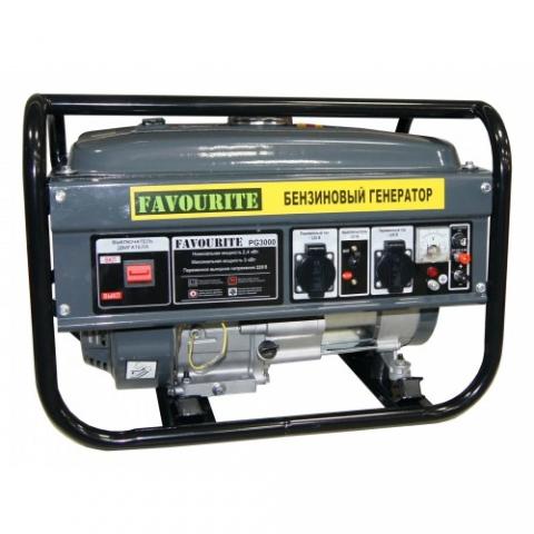 products/Бензиновый генератор Favourite PG 3000 (3кВт, 7л.с., 15л)