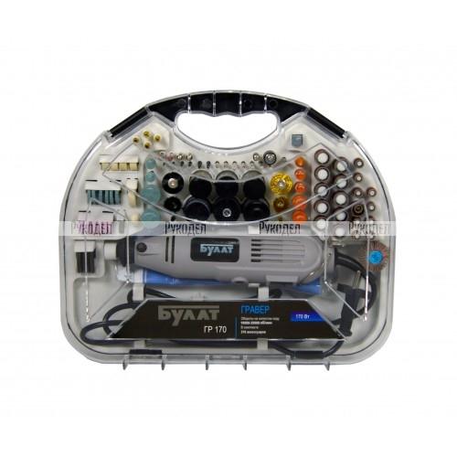 Гравер Булат ГР 170 ГВ (170Вт, 10000-35000об/мин, 2скорости)