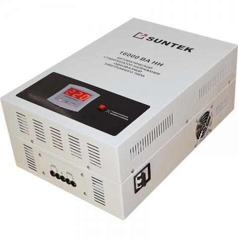 products/Релейный стабилизатор пониженного напряжения SUNTEK 16000ВА-НН, 90-285В, 3 года гарантии