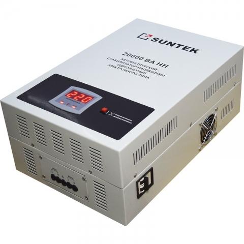 products/Релейный стабилизатор пониженного напряжения SUNTEK 20000ВА-НН, 90-285В, 3 года гарантии