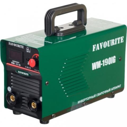 products/Сварочный инверторный аппарат Favourite WM 190IG (20-190А, 2-4мм, ПВ60%)