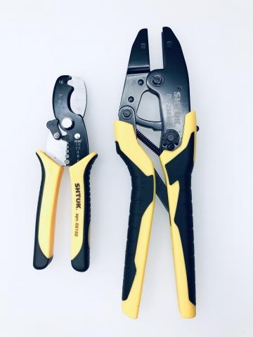 products/Базовый набор электрика ПЛЮС: ПК-25БМ+ без матриц, резак, в сумке SHTOK 07041