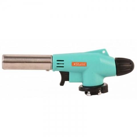 products/Горелка газовая, пьезоподж.(курок),керамика,рег.пламени,увелич. мощность, STURM