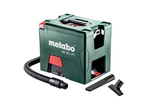 products/Аккумуляторный пылесос Metabo AS 18 L PC без АКБ и ЗУ 602021850