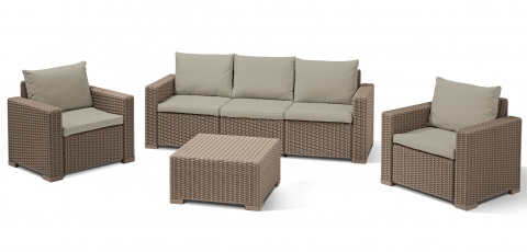 "products/Комплект мебели ""California 3 seater set"" Allibert (арт. 171989"