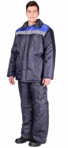 products/Куртка зимняя Стандарт-Лайт (тк.Оксфорд), т.синий/васильковый