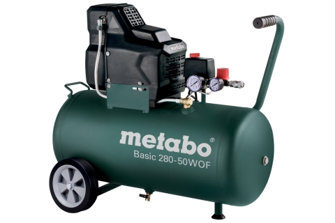products/Безмасляный компрессор Metabo Basic 280-50 W OF 1.7 кВт, 50 л, 601529000