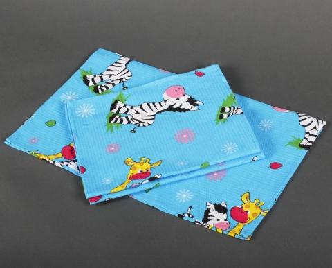 products/Полотенце вафельное 160 гр. (46х60) (5 шт.), детский рисунок