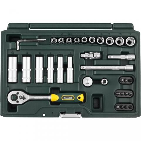 products/KRAFTOOL Expert 36 универсальный набор инструмента 36 предм.
