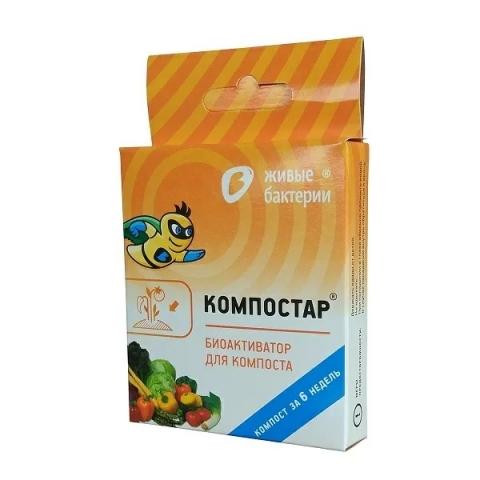 products/Биоактиватор для компоста Компостар 50г, КС50 (Р)