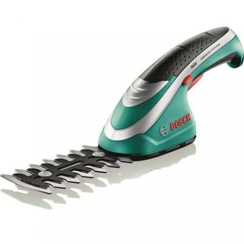 products/Аккумуляторные ножницы Bosch ISIO для травы и кустов 0600833120