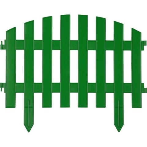 "products/Забор декоративный, зеленый ""Ар деко"" GRINDA (арт. 422203-G)"