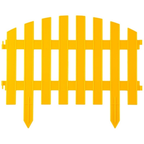 "products/Забор декоративный, желтый ""Ар деко"" GRINDA (арт. 422203-Y)"