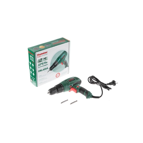 products/Дрель-шуруповерт HAMMER Flex DRL400A (арт. 59315)