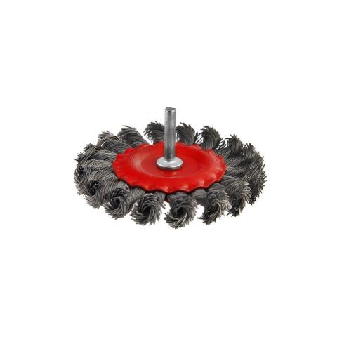 products/Кордщетка HAMMER 207-208 75*0,5*d6 радиальная жесткая витая (арт. 62120)