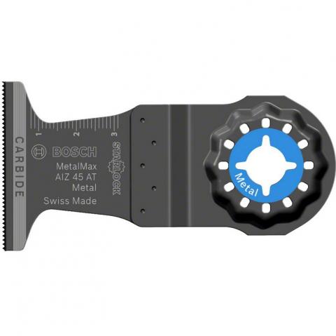 products/Погружное полотно Carbide AIZ 45 AT Metal (45х40 мм) Bosch 2608664348