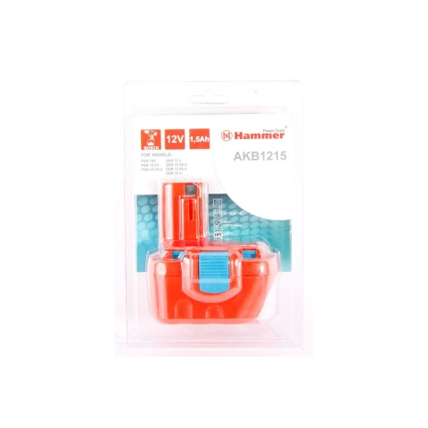 products/Аккумулятор HAMMER AKB1215 12В 1.5Ач для BOSCH (арт. 18551)