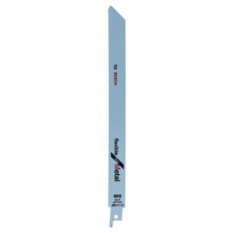 products/Биметаллические сабельные пилки 2 шт., Bosch S 1122 BF Flexible for Metal (арт. 2609256707)