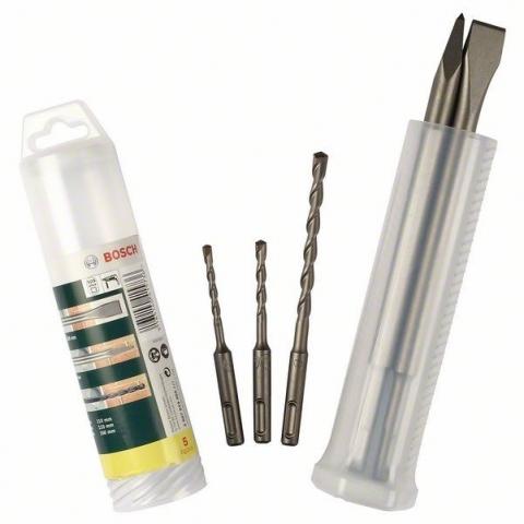 products/Набор из 5 зубил и ударных сверл Bosch SDS-plus (арт. 2607019455)