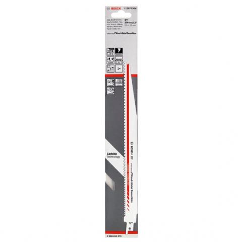 products/Сабельная пилка Bosch S1267XHM Endurance for Wood+Metal Demolition (арт. 2608653273)