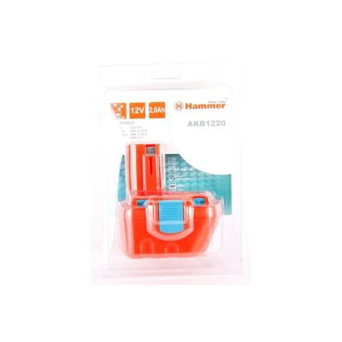 products/Аккумулятор HAMMER AKB1220 12В 2.0Ач для BOSCH (арт. 30583)