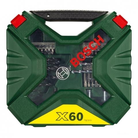 products/Набор сверл и насадок-бит Bosch X-Line Classic NEW GENERATION (60 шт.) (арт. 2607010611)