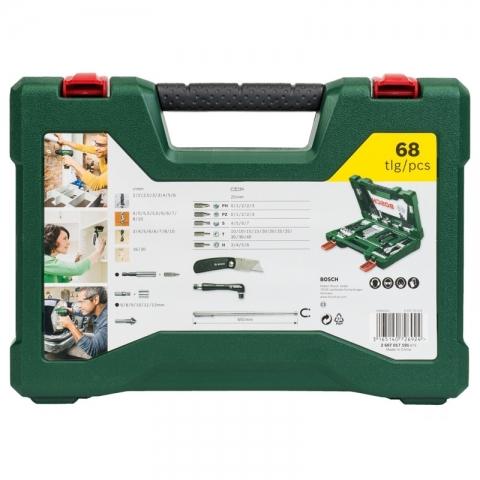 products/Набор сверл и бит V-Line (68 предметов) Bosch 2607017191