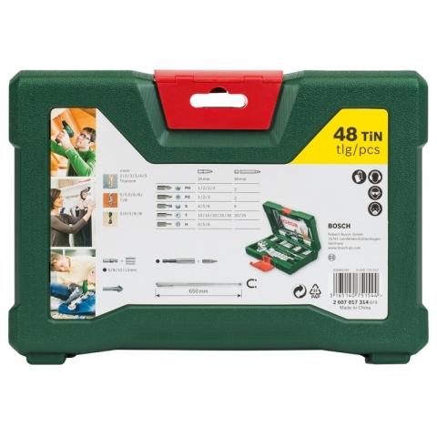 products/Набор принадлежностей V-line (48 шт.) Bosch 2607017314