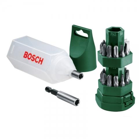 products/Набор 24 Биты + магнитный держатель Bosch (арт. 2607019503)