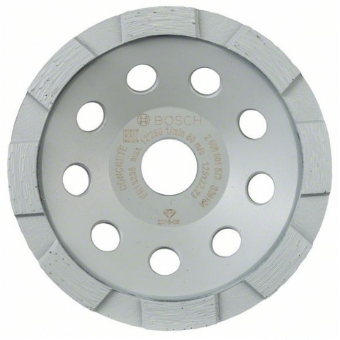 products/Алмазная чашка Standard, бетон 125 мм Bosch 2608601573