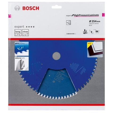 products/Пильный диск Bosch Expert for High Pressure Laminate 254x30 мм 80T по ламинату (арт. 2608644360)