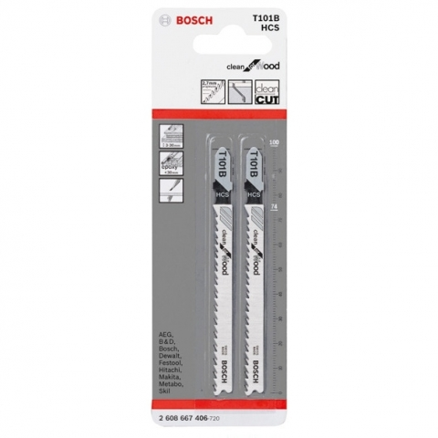 products/Пилка для лобзика Bosch Clean for Wood T 101 B (2 шт.) (арт. 2608667406)