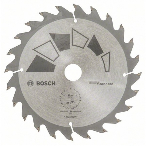 products/Пильный диск STANDARD 160х20/16 мм 24 DIY (арт. 2609256810)