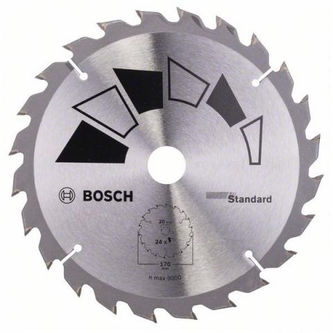 products/Пильный диск STANDARD 170x20/16 мм 24 (арт. 2609256812)