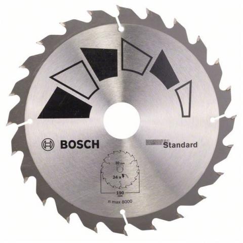 products/Пильный диск STANDARD 190X30/20 мм 24 DIY (арт. 2609256820)