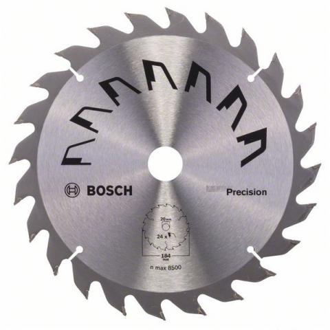 products/Пильный диск PRECISION 184x16 мм 24 DIY (арт. 2609256863)