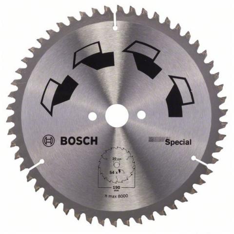 products/Пильный диск SPECIAL 190x20 мм 54 DIY (арт. 2609256891)