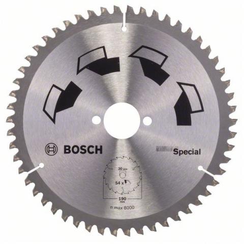 products/Пильный диск SPECIAL 190x30 мм 54 DIY (арт. 2609256892)