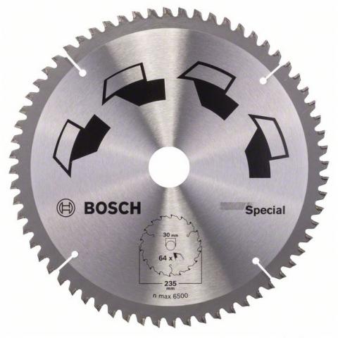 products/Пильный диск SPECIAL 250x30 мм 64 DIY (арт. 2609256895)