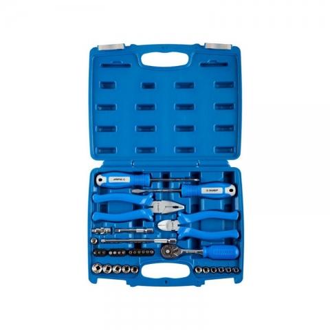 products/Набор слесарно-монтажного инструмента, 33 предмета, серия ЭКСПЕРТ, Зубр (арт.  27671-H33)