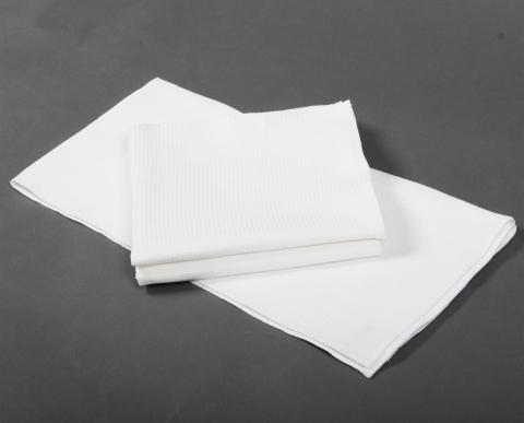 products/Полотенце вафельное 115 гр. (40х80) (5 шт.), белый