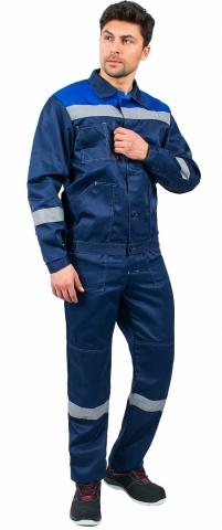 products/Костюм Легион-2 СОП (тк.Смесовая,210) п/к, т.синий/васильковый