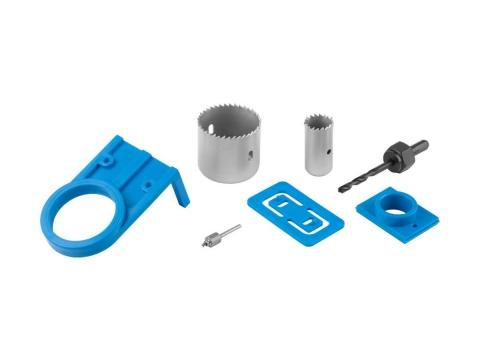 products/Набор 2954-54-H7 с пластиковыми шаблонами и кольцевыми пилами 25, 54мм, для врезания замков, 7 пред, ЗУБР