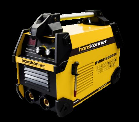 products/HWM1200GEN Сварочный инвертор 20-200 А, ПВ-80%, напр. 160-250 В, работа от генератора, Hanskonner