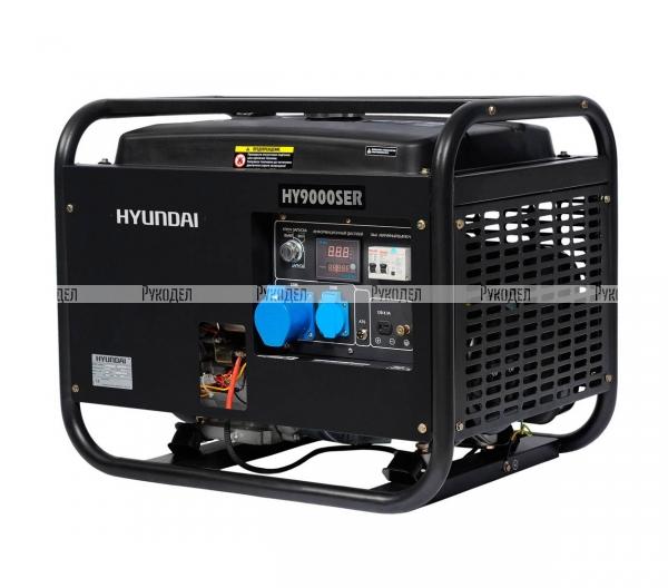 Генератор Hyundai HY 9000SER