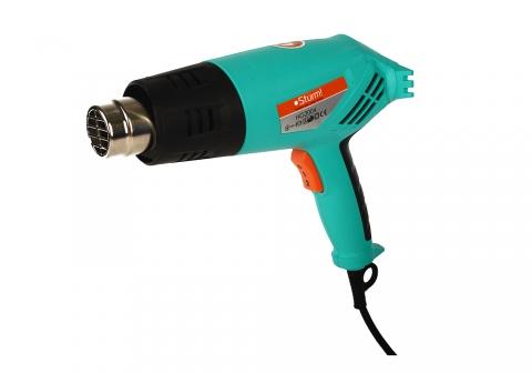 products/HG2004 Фен технический Sturm, 2000 Вт, 350/550C, 250/550л/мин, 5 насадок, кейс