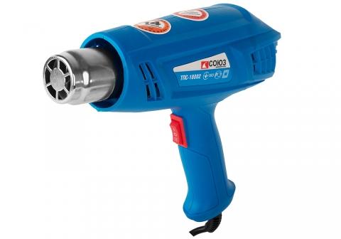 products/ТПС-18002 Фен технический Союз, 1800 Вт, 2 ступени, 2 насадки