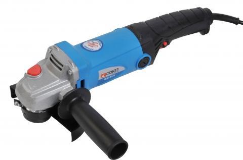 products/УШС-9010 Машина углошлифовальная СОЮЗ 125мм, 1200Вт, 11000об/мин, блок. шпинд. удлинен.рукоятка