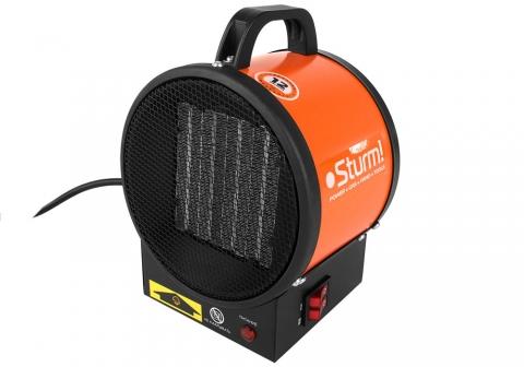 products/FH2022C Тепловентилятор керамич. Sturm, 2кВт, 2 реж:1/2 кВт, защит.от перегрева, переносной